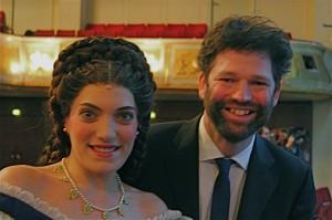 Mit Roberta Valentine, der Darstellerin von Elisabeth